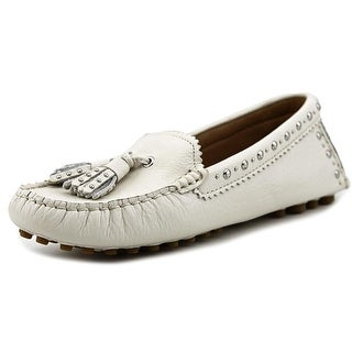 Coach Norfolk Round Toe Leather Loafer