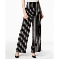 Nine West Deep Womens Dress Striped Pants Stretch