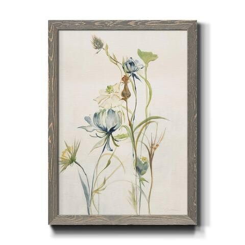 LATE SUMMER WILDFLOWERS II-Premium Framed Print - Ready to Hang