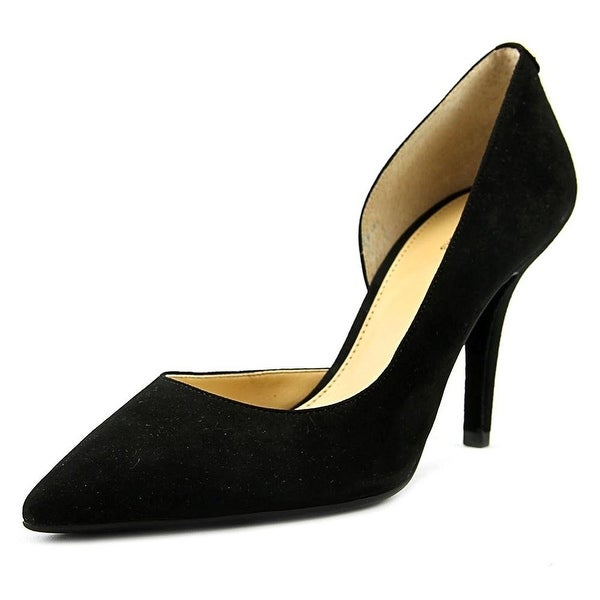 MICHAEL Michael Kors Womens Nathalie Flex Suede Pointed Toe D-orsay Pumps