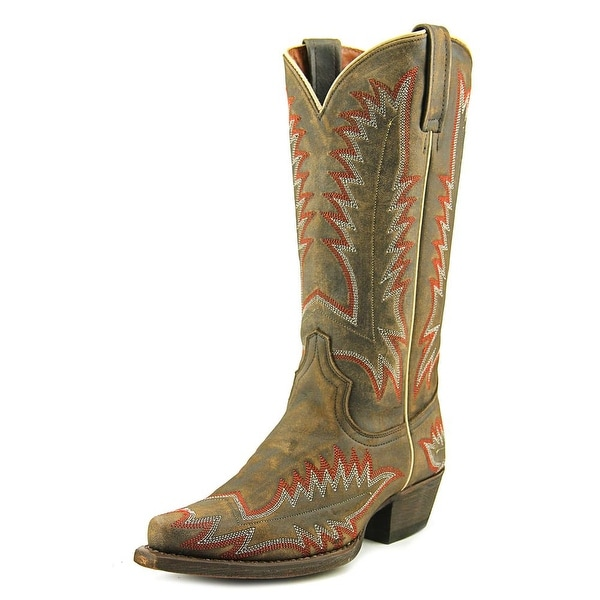 Redneck Riviera Phoenix Cowgirl Pointed Toe Leather Western Boot