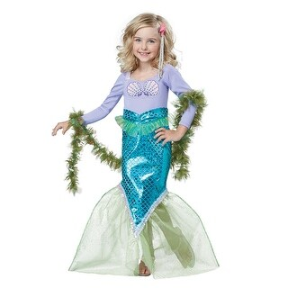 Toddler Magical Mermaid Halloween Costume (2 options available)