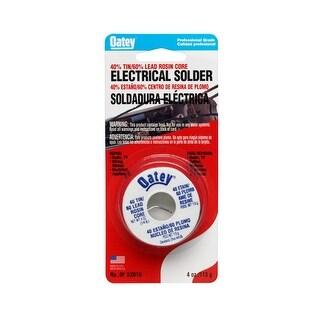 Oatey 53016 40/60 Rosin Core Wire Solder, 1/4 lbs