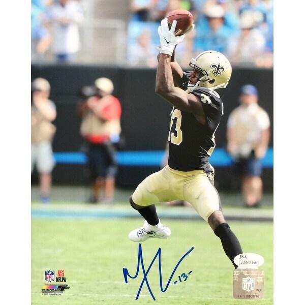80cb484e9 Shop Michael Thomas Signed 8x10 New Orleans Saints Catch Photo JSA ...