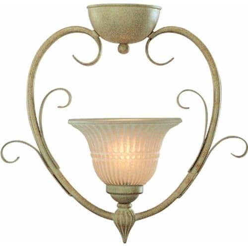 Volume Lighting V3331 Florentia 1 Light Semi-Flush Ceiling Fixture