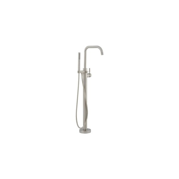 Mirabelle MIREDFS1000G Edenton Floor Mounted 10 GPM Tub Filler with Built-In diverter
