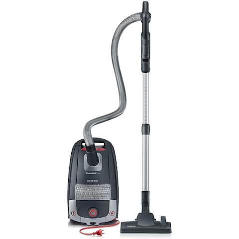 Severin Germany S'Power Zelos Bagged Canister Vacuum Cleaner - 9' x 12'