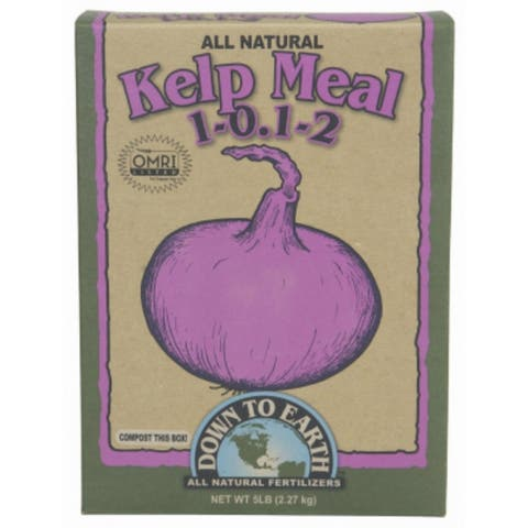 Down To Earth 07813 Kelp Meal All Natural, 5 Lbs, 1-0-1-2