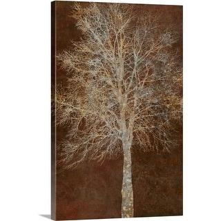 Cora Niele Premium Thick-Wrap Canvas entitled Tree Silhouette