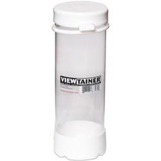 "White - Viewtainer Tethered Cap Storage Container 2.75""X8"""