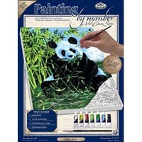 "Panda - Paint By Number Kit Artist Canvas Series 9""X12"""