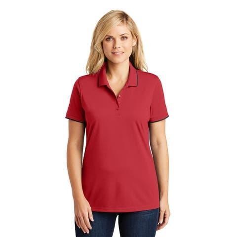 One Country United Women's Dry Zone UV Micro-Mesh Tipped Polo