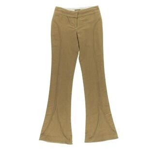 Catherine Malandrino Womens Corduroy Flare Leg Casual Pants - 4