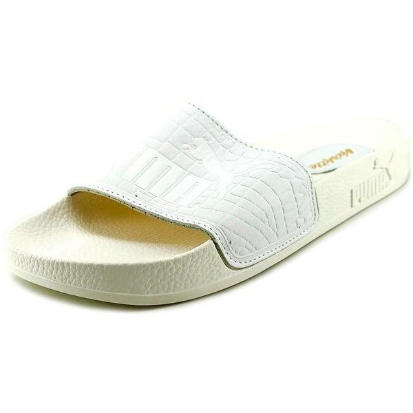 Puma Top Slide X Vashtie   Open Toe Leather  Slides Sandal