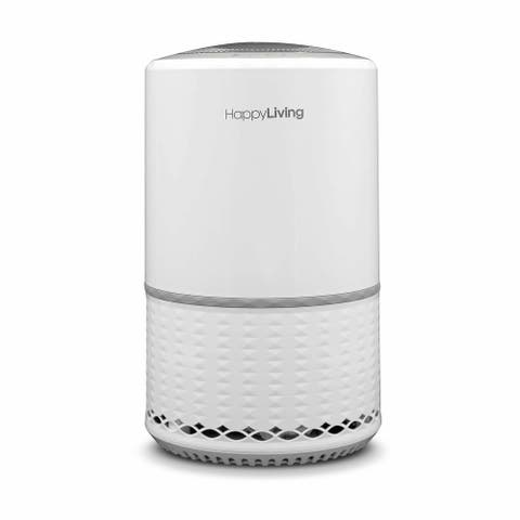 Happy Living True HEPA 3-Stage Filtration Air Purifier