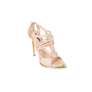 Roberto Cavalli Women's Nude Ankle Strap Pumps
