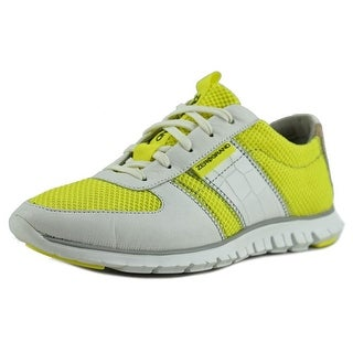 Cole Haan ZEROGRAND SNEAKERS Women Leather Yellow Fashion Sneakers