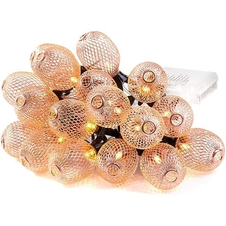 Link to Pineapple String Lights Waterproof Battery Operated - Medium Similar Items in Decorative Accessories