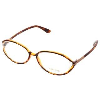 Tom Ford FT5212/V 052 Clear Havana Oval Opticals