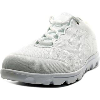 Propet TravelActiv Women 2E Round Toe Synthetic White Walking Shoe