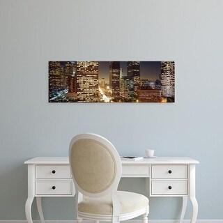 Easy Art Prints Panoramic Images's 'Los Angeles California USA' Premium Canvas Art