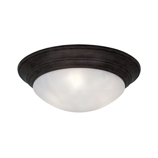 """Designers Fountain 1245XL-ORB 4 Light 20"""" Flush Mount from the Lunar Collection"""