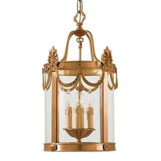 "Metropolitan N850704 4 Light 22"" Height Lantern Pendant from the Metropolitan Collection"