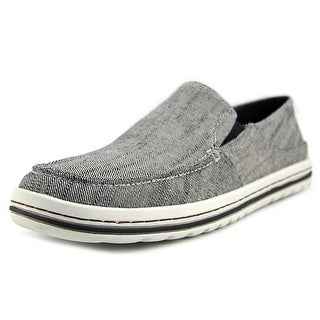Simple Dare Men  Moc Toe Canvas  Loafer
