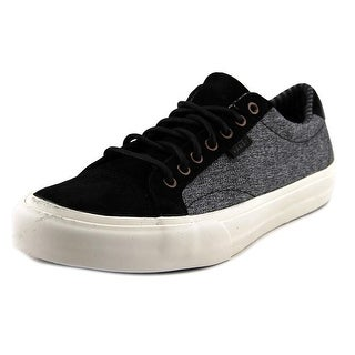 Vans Court DX  Men  Round Toe Canvas Black Sneakers