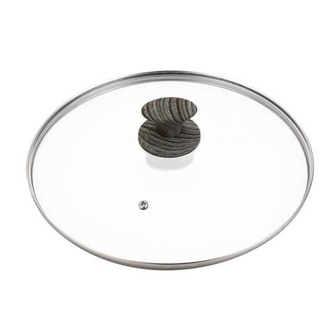 Not A Square Glass Lid Pan Cover, 12 Inches