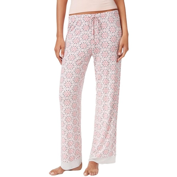 2c5100a376 Shop Jockey Womens Pajama Bottoms Printed Comfort Waist - Free Shipping On  Orders Over  45 - Overstock - 20047694