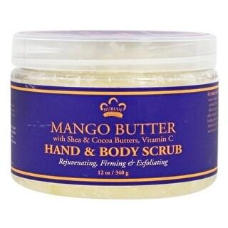 Nubian Heritage Hand & Bdy Scrub Mango Btr 12-ounce