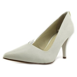 Aldo Nydiven Women  Pointed Toe Leather Ivory Heels