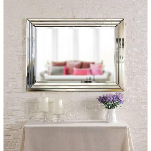 "Alayna 40"" Rectangular Beveled Wall Mirror - 30"" x 40"""
