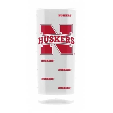 Nebraska Cornhuskers Tumbler - Square Insulated (16oz)