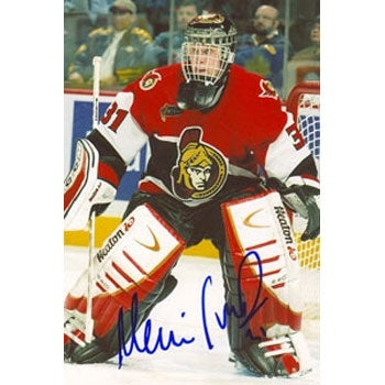 brand new efd0d 1c94e Martin Prusek Ottawa Senators Autographed 4x6 Photo with Certificate of  Authenticity