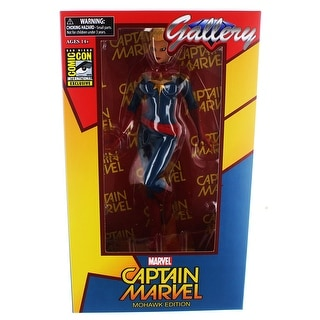 "Marvel Gallery Captain Marvel Mohawk Edition 9"" PVC Figure (SDCC Exclusive)"