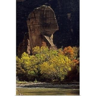 """Zion National Park, Utah, The Pulpit"" Poster Print"