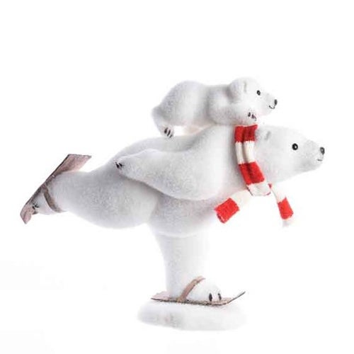 Polar Bear on Skates