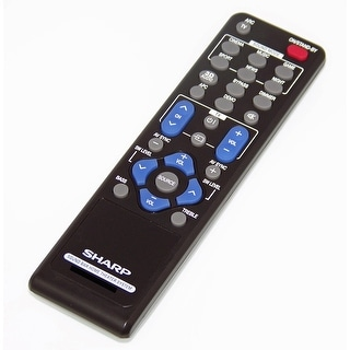 OEM Sharp Remote Control Originally Shipped With: HTSB40, HT-SB40, HTSB60, HT-SB60