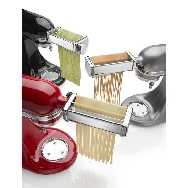 bf88d2a6e5cf6 Shop KitchenAid KSMPRA 3-Piece Pasta Roller   Cutter Attachment Set ...