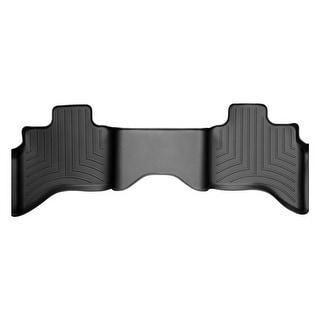 WeatherTech Dodge Ram 1500 2009+ Quad Cab Black Rear Floor Mats FloorLiner 442162