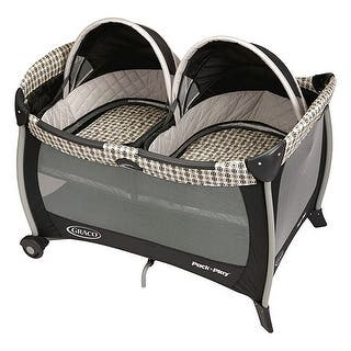 Graco PNP Twins - Vance PNP Playard|https://ak1.ostkcdn.com/images/products/is/images/direct/e9bd7fe6865e3852e200ebd53193e190a42d11b5/Graco-PNP-Twins---Vance-PNP-Playard.jpg?impolicy=medium