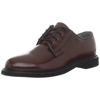 Bates Womens Lite Leather Oil Resistant Oxfords