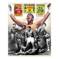 ''Ali: I Am the Greatest'' by Wishum Gregory Celebrities Art Print (11 x 8.5 in.)