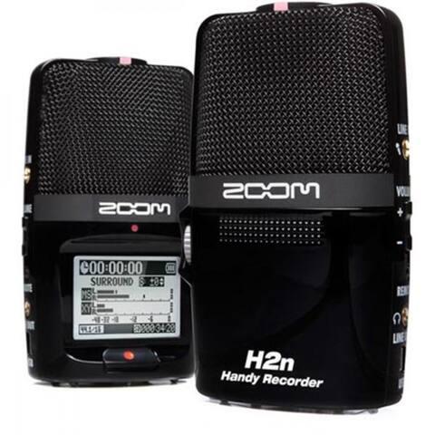 Zoom H2n Portable Handy Recorder - Black