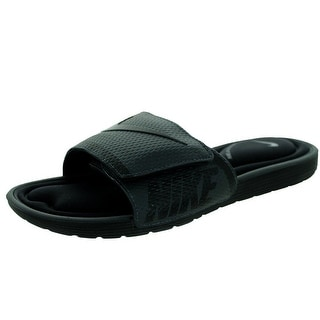 Nike Mens NIKE SOLARSOFT COMFORT SLIDE, BLACK/ANTHRACITE