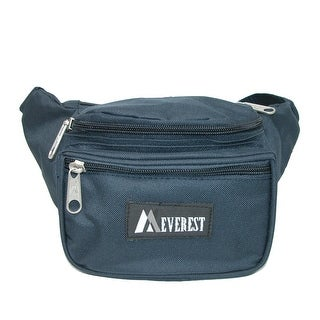 Everest Durable Polyester Fabric Waist Pack (Pack of 5)