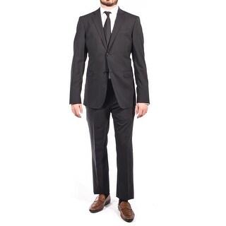 Pierre Balmain Wool Two Button Suit Black