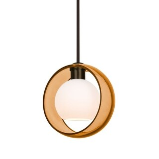 """Besa Lighting 1TT-MANAAM Mana Single Light 9"""" Wide Mini Pendant"""